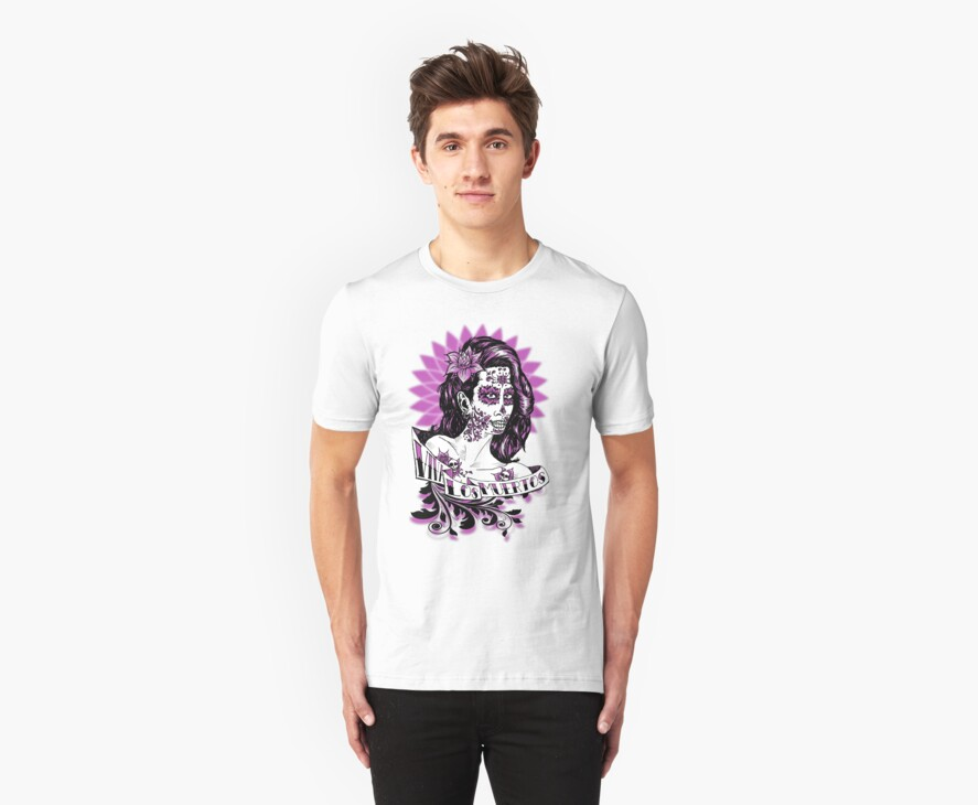 Day of the Dead Girl T-shirt 2 by rawjawbone