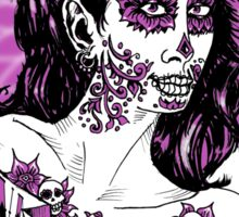 Day of the Dead Girl T-shirt 2 Sticker