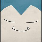 snorlax iphone case by markwalter2747