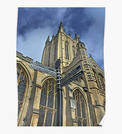Bury St Edmunds Cathedral  Poster