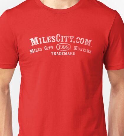 MilesCity.com 1998 Trademark (White Type, More Colors) Unisex T-Shirt