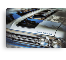 Silver bullet II Canvas Print