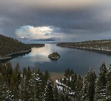 Storm at Emerald Bay by Richard Thelen