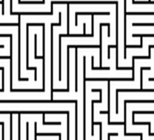 The maze Sticker
