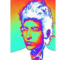 Bob Dylan Psychedelic Photographic Print