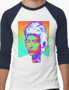 Bob Dylan Psychedelic Men's Baseball ¾ T-Shirt