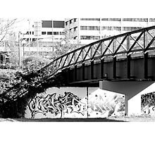 A bridge not far enough Photographic Print