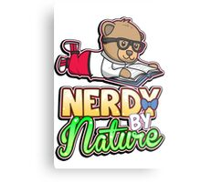 Nerdy By Nature Metal Print