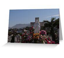Dead And Living People - Gente Muertos Y Vivos Greeting Card