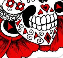 Candy skull tshirt 2 Sticker