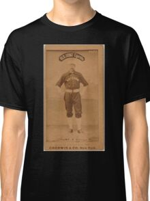 Benjamin K Edwards Collection Silver Flint Chicago White Stockings baseball card portrait 002 Classic T-Shirt