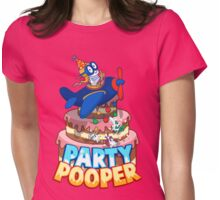 Party Pooper Womens Fitted T-Shirt