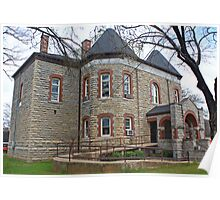 marion county courthouse in yellville arkansas Poster