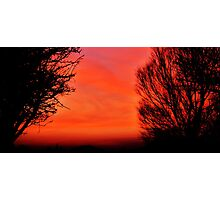 Gower Sunset Photographic Print