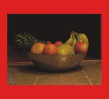 Fruit bowl still life One Piece - Long Sleeve