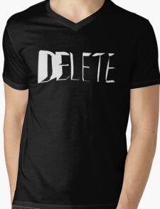 Delete Mens V-Neck T-Shirt