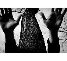 Dark hands Photographic Print
