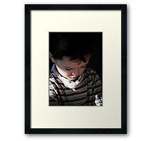 Lighten Up... Framed Print