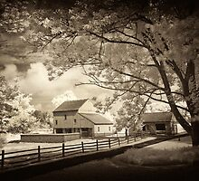 Daniel Boone's barn by ©  Paul W. Faust