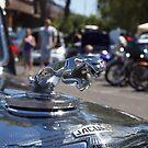Jaguar Mark IV 3½ Litre Bonnet Ornament by Joe Hupp