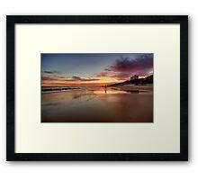 25.2012 - Bloody Sunset Framed Print