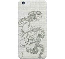 snake tattoo  iPhone Case/Skin