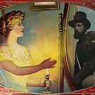 Civil War Apparition (Vintage Halloween Card) by Joseph Welte