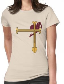 Erza Scarlet Insignia  Womens Fitted T-Shirt