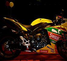 Yamaha YZF R1 Swan Racing Superbike by Lou Wilson