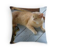 Got Any Peanuts?? Throw Pillow