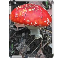 Red Fungi iPad Case/Skin