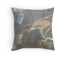 Floaty Toad Throw Pillow