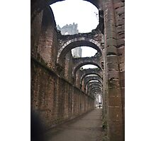 Church ruins Photographic Print