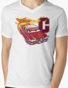 Fury and Fire Mens V-Neck T-Shirt