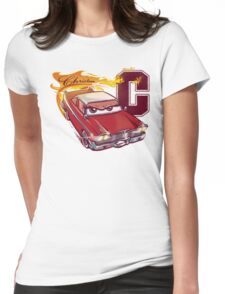 Fury and Fire Womens Fitted T-Shirt