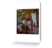 The Laundry ~ Monte Cristo, Junee NSW Greeting Card