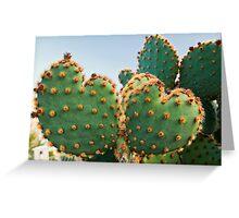Sweetheart Cactus Greeting Card