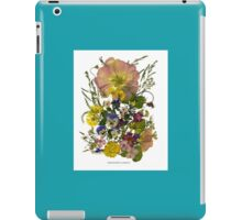 FRIENDSHIP'S GARDEN - A Floral Tribute for a Friend iPad Case/Skin