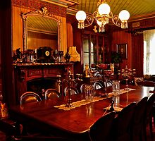 Monte Christo Formal Dining room.[Byo Spirits]. by Julie  White