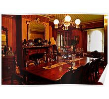 Monte Christo Formal Dining room.[Byo Spirits]. Poster