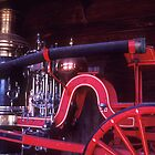 Old steam fire pump by ©  Paul W. Faust