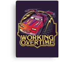 Working Overtime Canvas Print