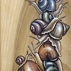 Snail Pile 02 by Fay Helfer