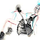 Watercolor- London Fashion week painting by gaarte