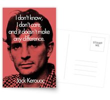 It Doesn't Make a Difference - Jack Kerouac Postcards