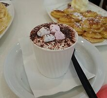 Milk coffee with Marshmallows by EdsMum