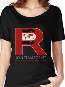 Join Team Rocket! Women's Relaxed Fit T-Shirt