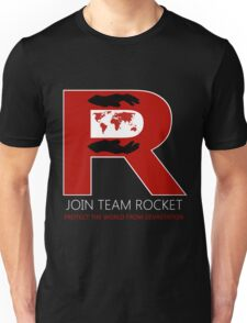 Join Team Rocket! Unisex T-Shirt