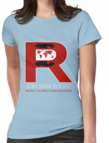 Join Team Rocket! Womens Fitted T-Shirt