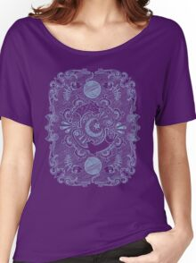 The Filigree Kitty Women's Relaxed Fit T-Shirt